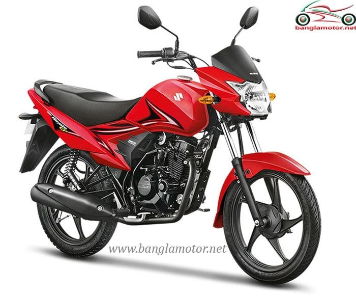 Suzuki Hayate Is An Entry Level City Commuter Bike Which Is
