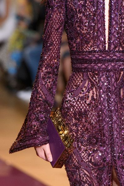Zuhair Murad Couture, Fall 2016 - Breathtakingly Beautiful Fall '16 Couture Details - Livingly