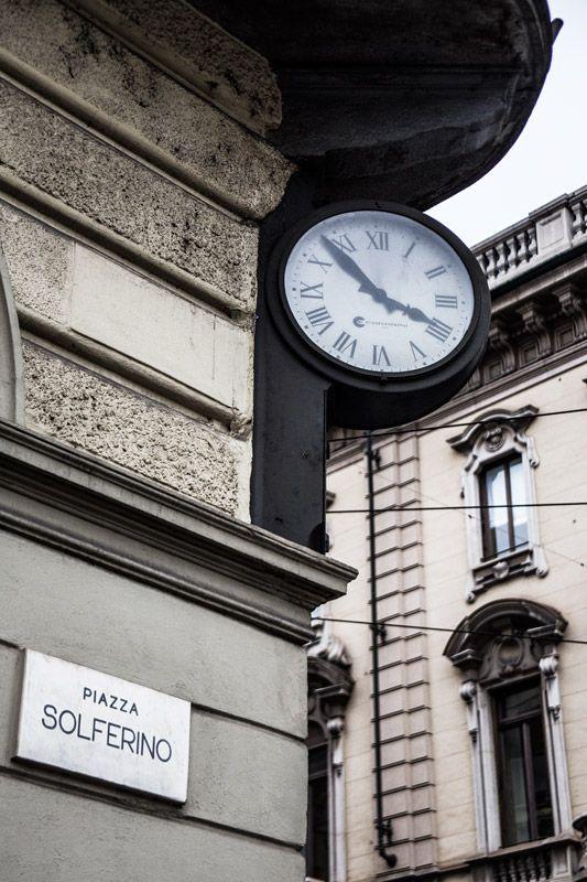 Orologio comunale piazza Solferino #Torino