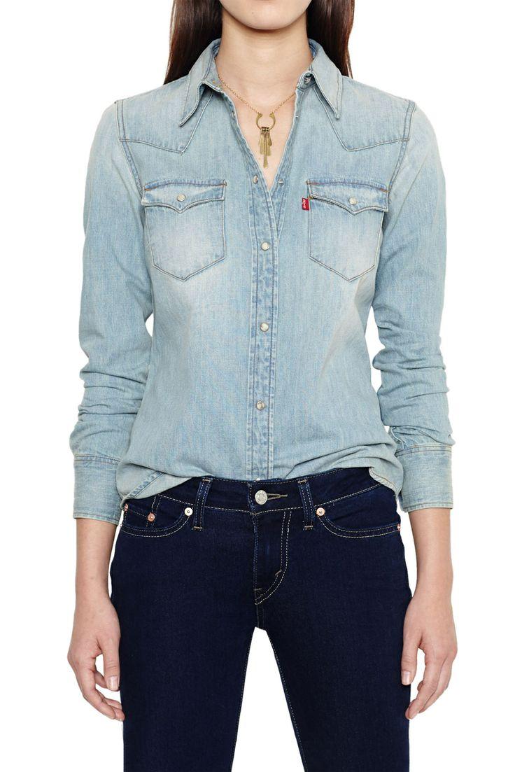Levis denim shirt - bought 9/14