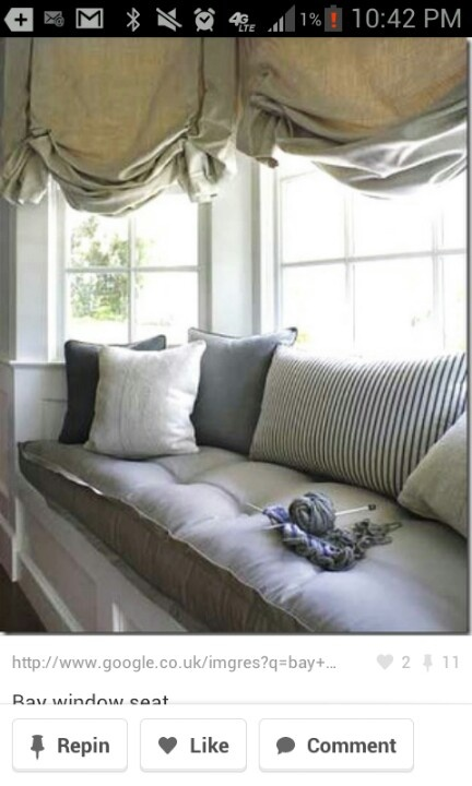 Were are going to make this for our bay window in our bed room