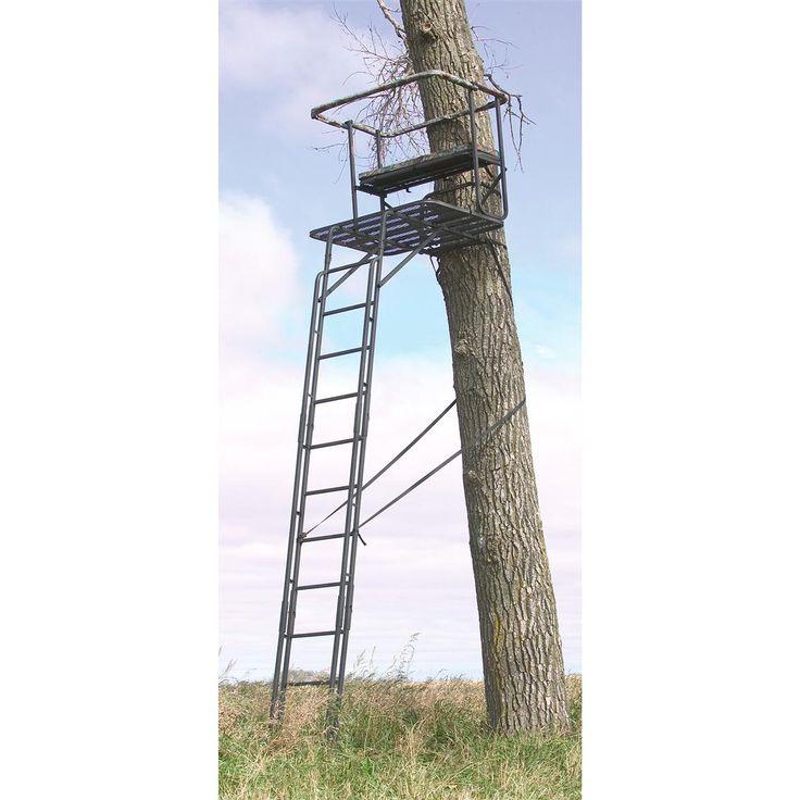 Big Game Ladder Tree Stands | ... better than one save big big game partner ladder stand images videos