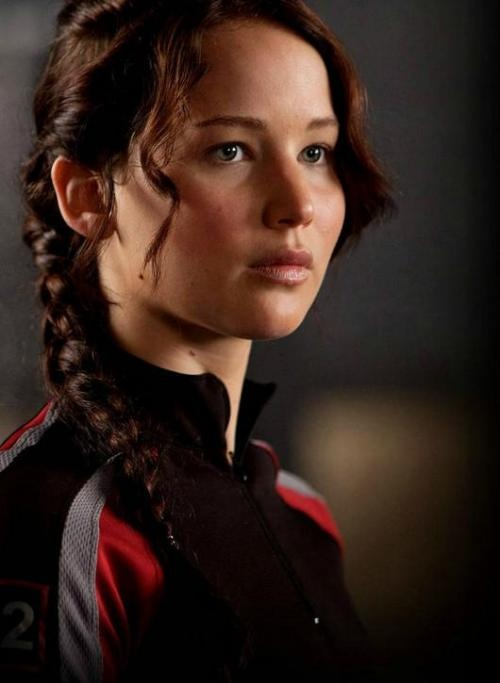 Where was Katniss Everdeen when I was sixteen and had the hair to pull this off properly?