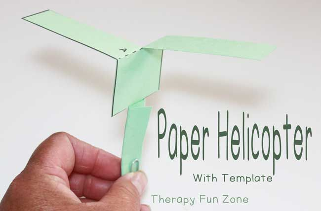 how to make a helicopter with a motor