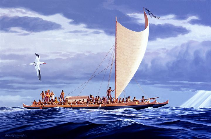 ʻIke Kālai Waʻa: Canoe Innovation in the Pacific Students will explore why people sailed across the vast Pacific Ocean, how canoes were built, and how the design of single and double hull canoes (i.e. Hōkūleʻa) evolved.