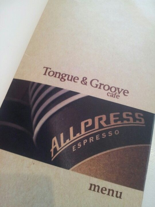 Tongue & Groove - Paleo options available here.