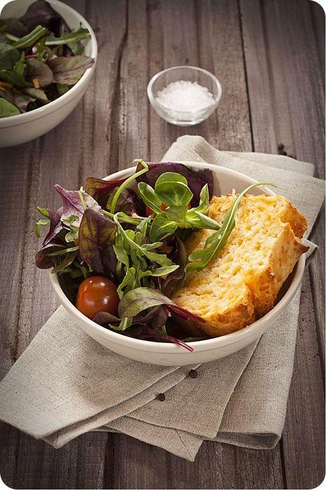Quick Cheddar Bread By Alton Brown Via La Patissiere #recipe #bread #cheddar