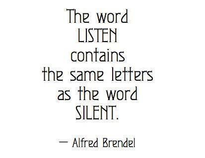 Listen / Silent.