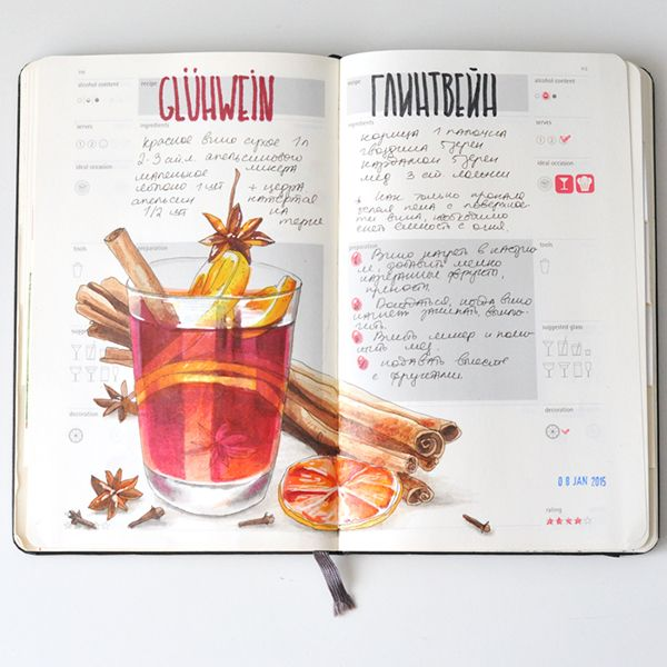 Anna Rastorgueva Recipe journal                                                                                                                                                                                 More