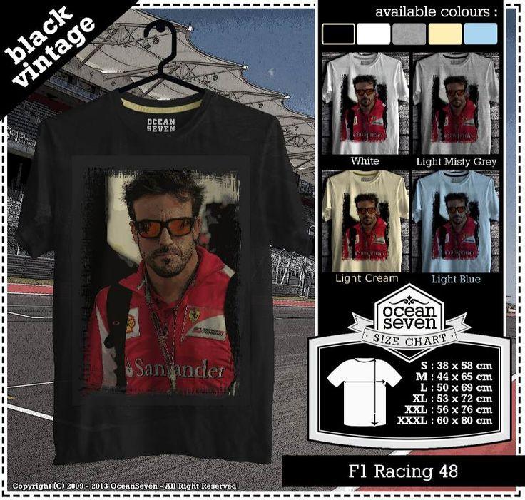 Kaos Balap F 1 | Formula One Racing  series 4