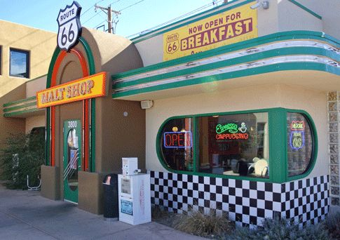 Route 66 Malt Shop – Albuquerque, New Mexico. Another on my bucket list - PBB!