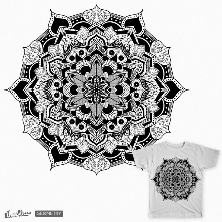 The symmetry part two on Threadless