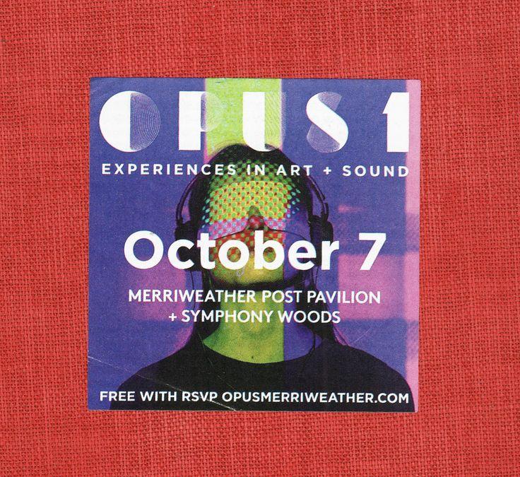 OPUS 1 Merriweather Post Pavilion October 7, 2017