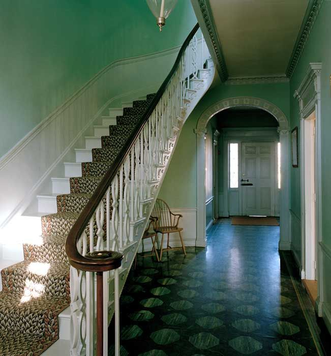 Dc Octagon House Staircase