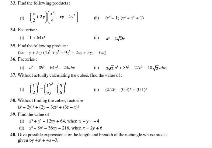 20 Polynomials Class 9 Worksheet Important Questions For Class 9 Maths Chapter 2 Polynomial Polynomials Worksheets Worksheet Template