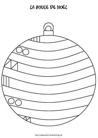 Resultado de imagen para graphisme boule de noel