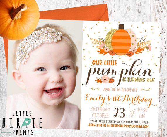 Best 25 Pumpkin invitation ideas on Pinterest