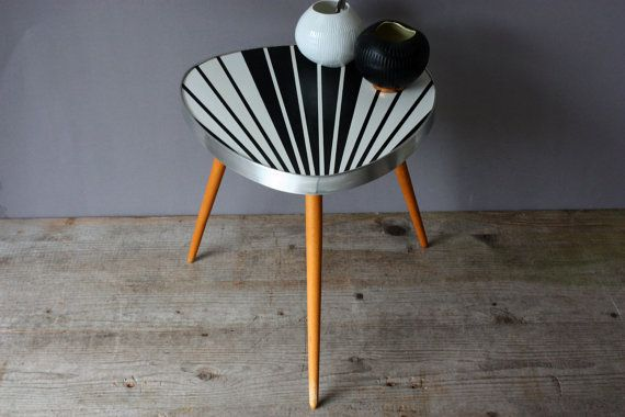 Plant Stand Small Coffee Table Flower Stool Tripod