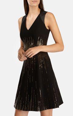 karen millen вечернее платье, платье с пайетками, черное платье, вечернее платье