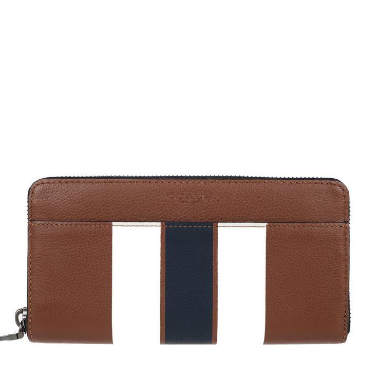 Coach Men's Wallets (brown CWH)