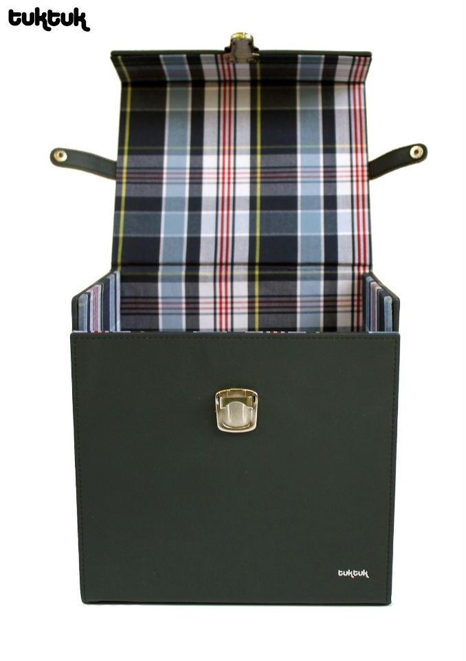 TukTuk leather 45 box