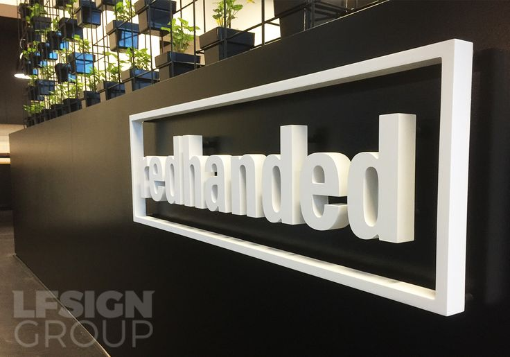 Big bold and beautiful office signage.http://lfsigns.com.au/news/office-signage