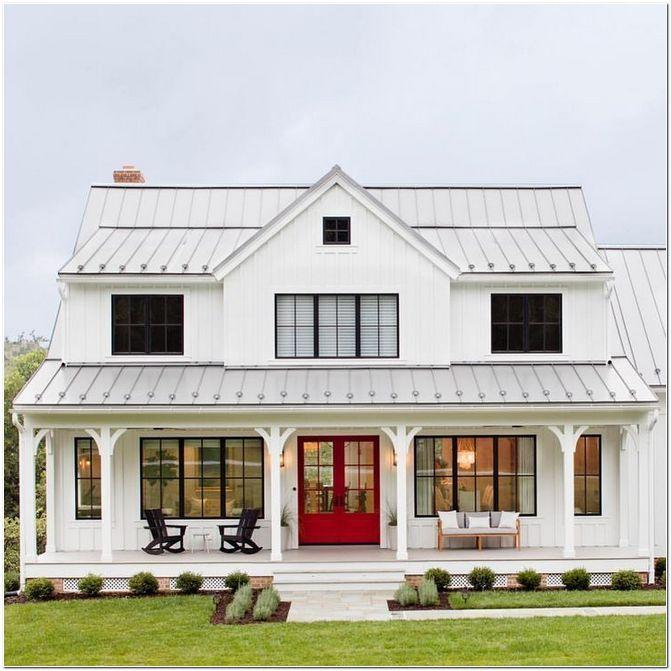 35 Inspiring Farmhouse House Design Homeexalt In 2020 Modern Farmhouse Plans House Plans Farmhouse Modern Farmhouse Exterior