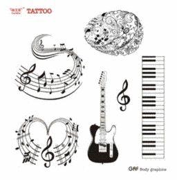 Music Tattoos Designs Online   Music Tattoos Designs for Sale