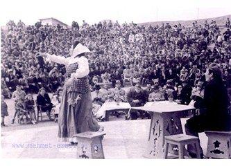 KÖY TİYATROSU -Hasanoğlan Köy Enstitüsü Açıkhava Tiyatrosu