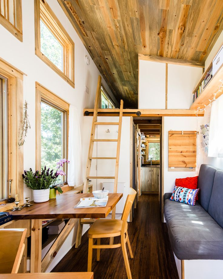 """Winner of the """"On Wheels"""" category of the 2014 Small Space, Big Dreams Home Awards - Tiny House"""