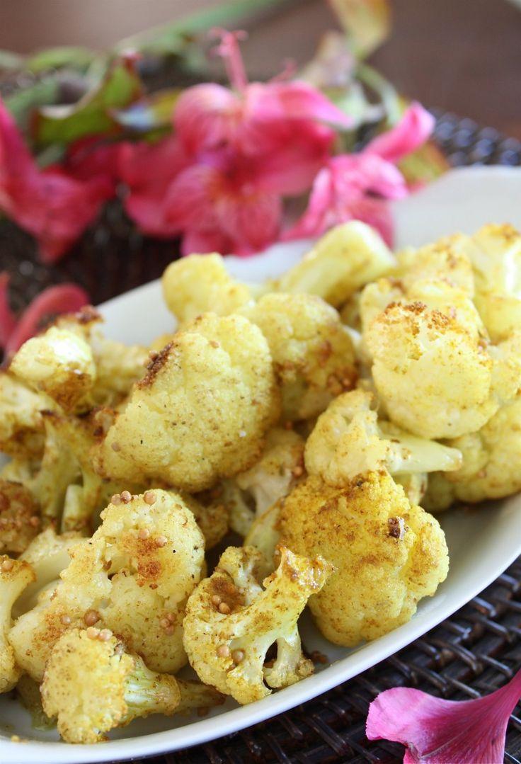 Roasted Curried Cauliflower by Martha Stewart