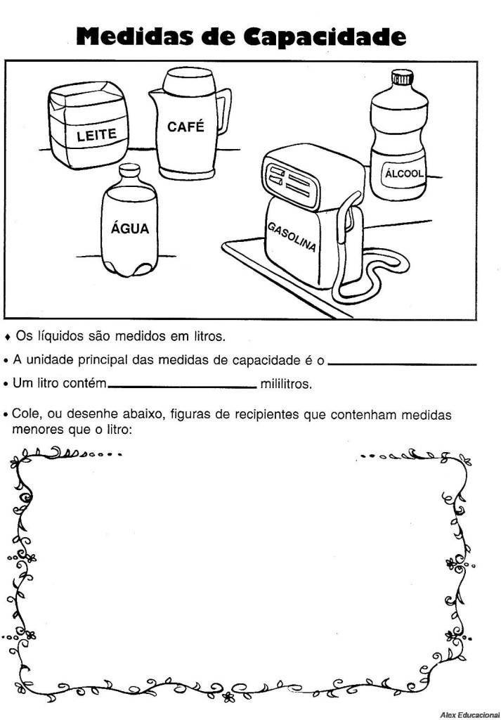 Matematica Medidas De Capacidade 3 Jpg 713 1024 Grandezas E