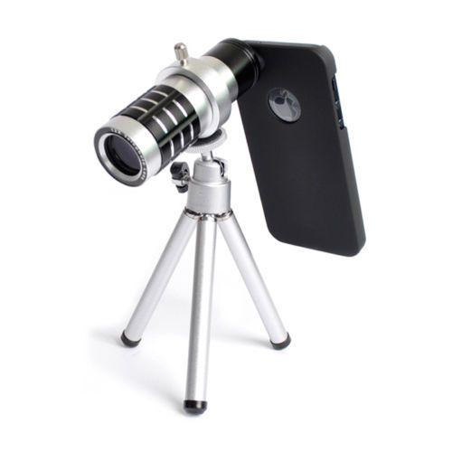 [Idea Good] x12 iPhone 5 Telephoto Camera DSLR Lens + Tripod Professional Set