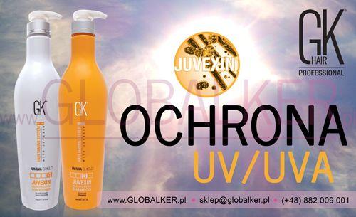 UV/UVA Ochrona koloru GK Hair Color Shield 650ml Global Keratin Juvexin Warszawa Sklep #no.1 #globalker