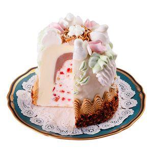 【napoli icecream(ナポリアイスクリーム)】 デコレーション カッサータ イタリア伝統のシチリア風フルーツ入りアイスケーキ。  税込 5,250円