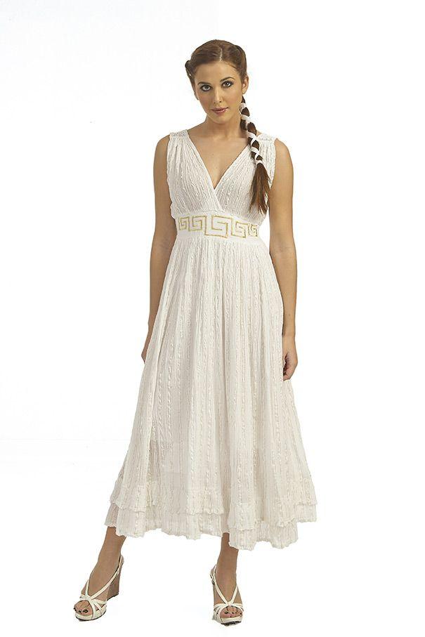 Cotton gauze dress