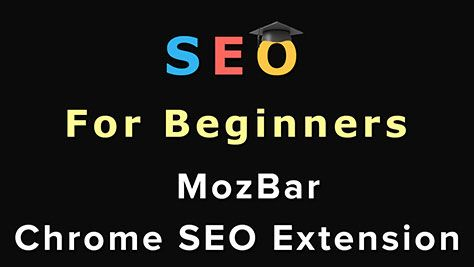 MozBar is an amazing Google Chrome extension that allows you to see any website's SEO information. It is extremely handy when performing SEO!