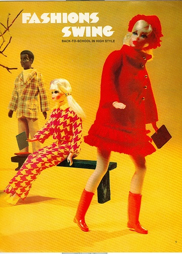 October 1970 Barbie Talk fan club magazine centerfold pic 2 of 2 by 2mnedolz, via Flickr