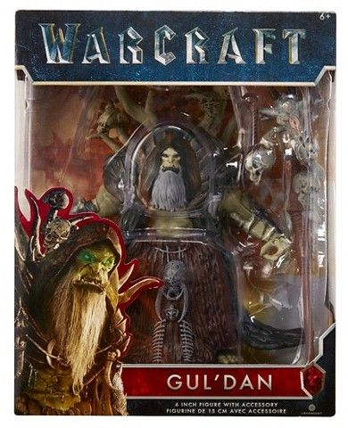 "Warcraft World of Warcraft Gul'Dan 6"" Figure with Accessory"