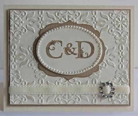Image detail for -... Designs by Beverly Polen: Stampin' Up! Greeting Card - White on White