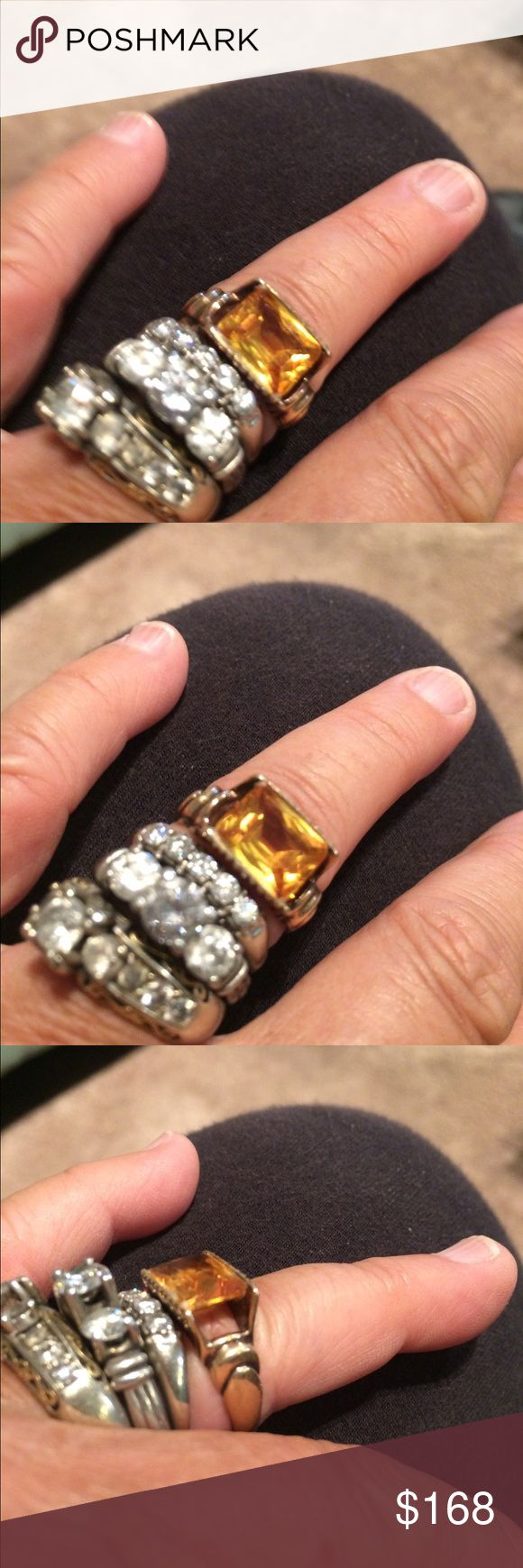 14k gold Citrine ring the November birth stone . Such a beautiful ring! 14k gold Citrine ring the November birth stone Jewelry Rings