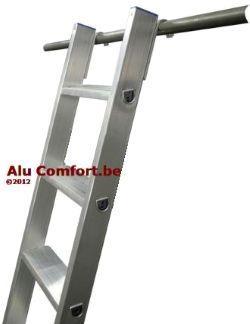 Bibliotheekladder - Stellingladders - bibliotheekladders - Rayon ladders