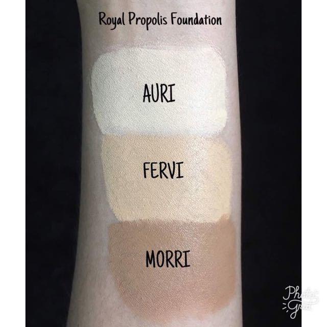 Alha Alfa Royal Propolis Foundation Fervi Makeup Kit Propolis