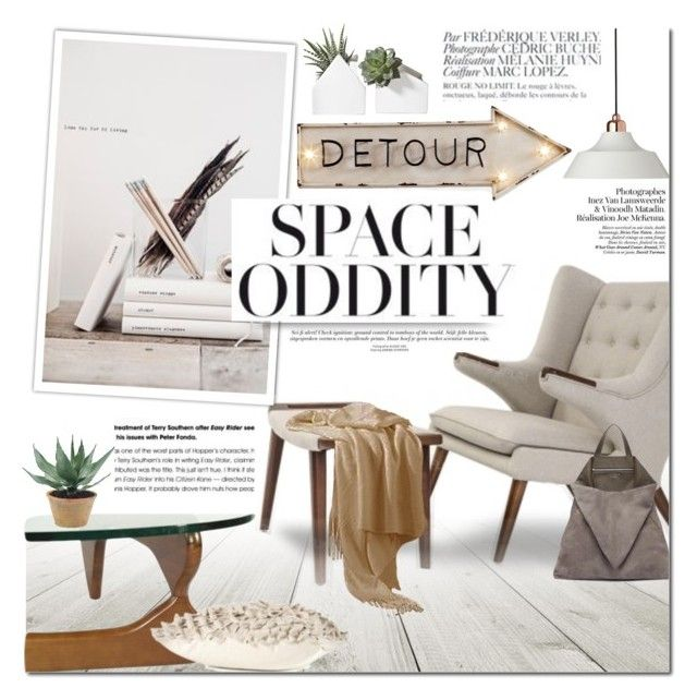 """Space Odity"" by dian-lado ❤ liked on Polyvore featuring interior, interiors, interior design, home, home decor, interior decorating, Dyberg Larsen, NDI, TSATSAS and Dot & Bo"