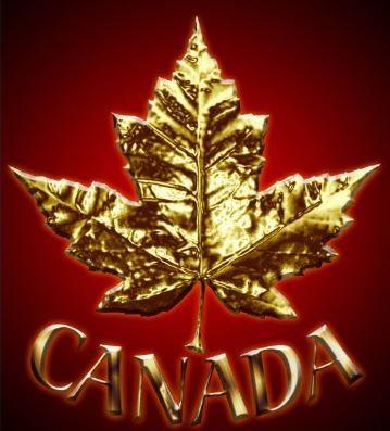 Canada (gold leaf)