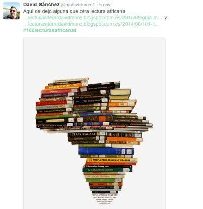 El 2 de noviembre comenzaba la iniciativa #100lecturasafricanas en Twitter - Recopilación de las 25 primeras recomendaciones