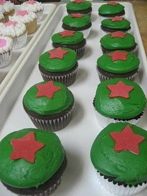 Heineken cupcakes