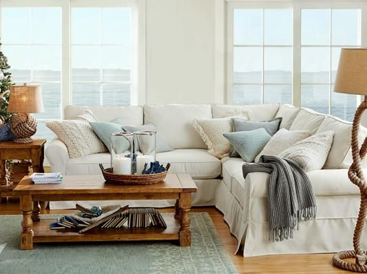 Pottery Barn Customer Submission: Coastal Living Room