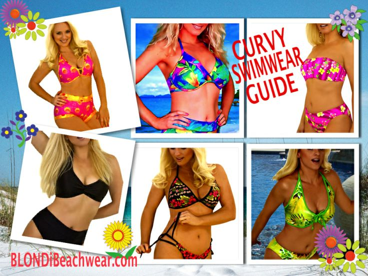 Curvy Large Bust Swimwear Guide by Blondi Beachwear : http://blondibeach.wordpress.com/2014/04/18/blondi-style-classic-swimwear-styles-for-curvy-figures/ #swimwear #swimsuits #bikini #beach #beachwear #swimsuitseparates #resort #vacation #style
