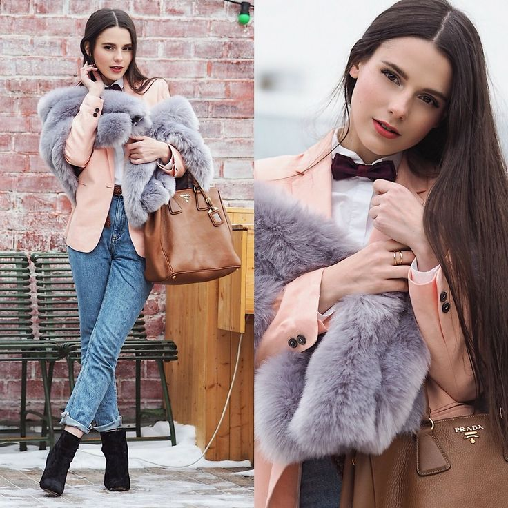 Yana P. - Oversized Faux Fur